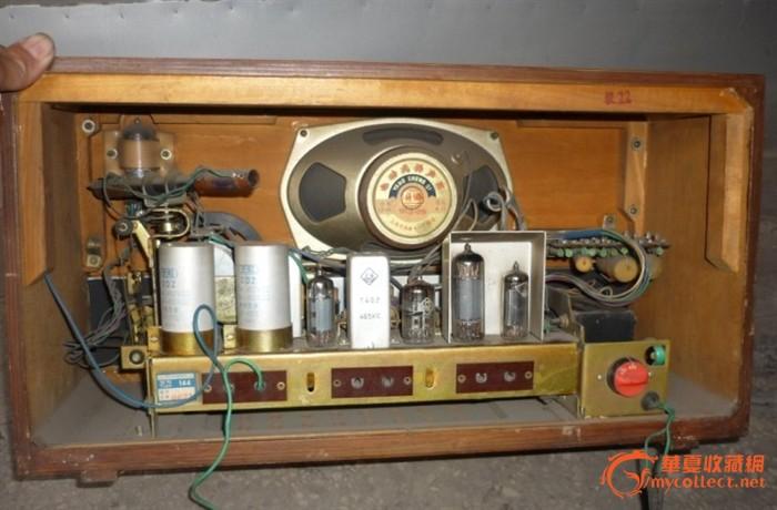 国营上海144六灯电子管收音机