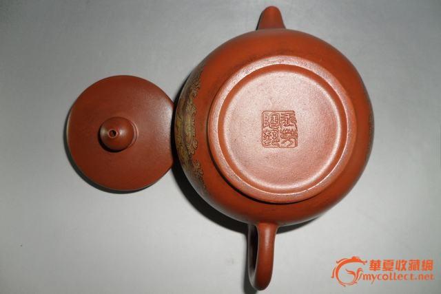 底款:玉芳陶艺◣八仙过海壶◢紫砂壶/宜兴