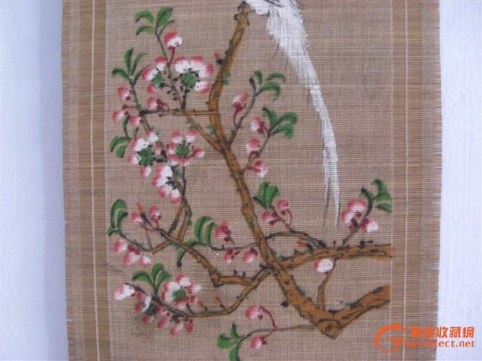 竹编手绣手绘画