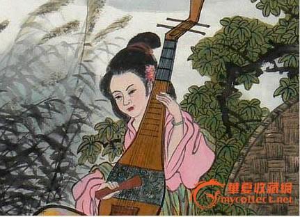 张大悲·国画人物作品《杜甫诗意》
