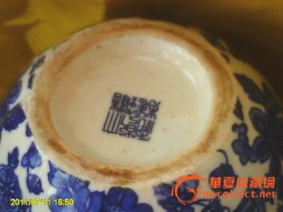 大清乾隆年青花茶壶图片