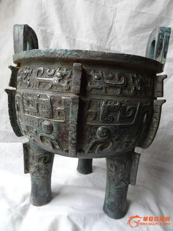 清朝真正的金元宝-商周时期的青铜三足鼎   卖家其他地摊交易信息   我要交易   交易投诉