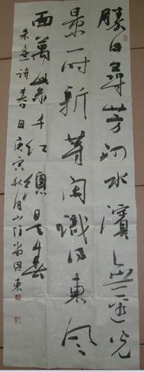 青海书协美誉主席王云书法