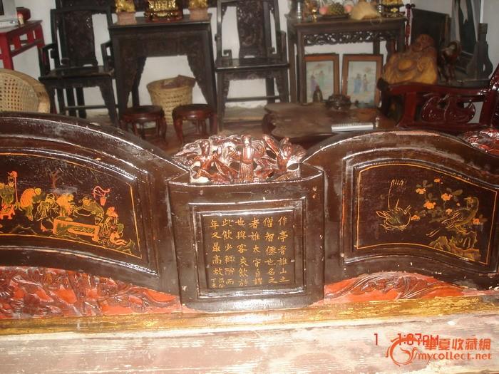 ,罗汉床的客厅摆放图片,连天红家具罗汉床价格