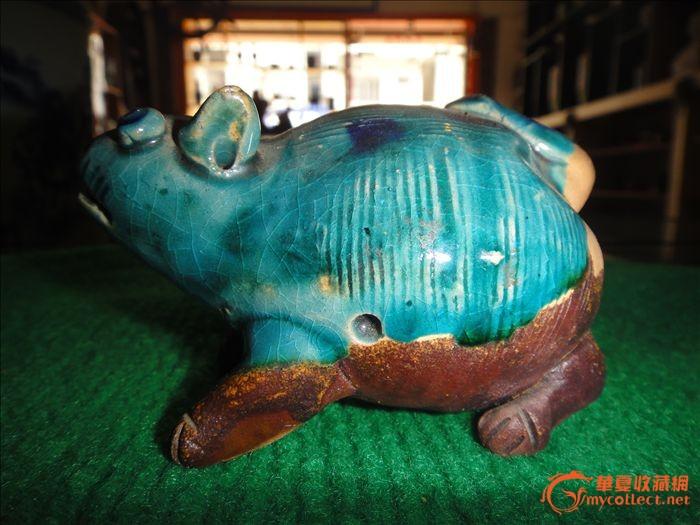 陶土做公仔动物