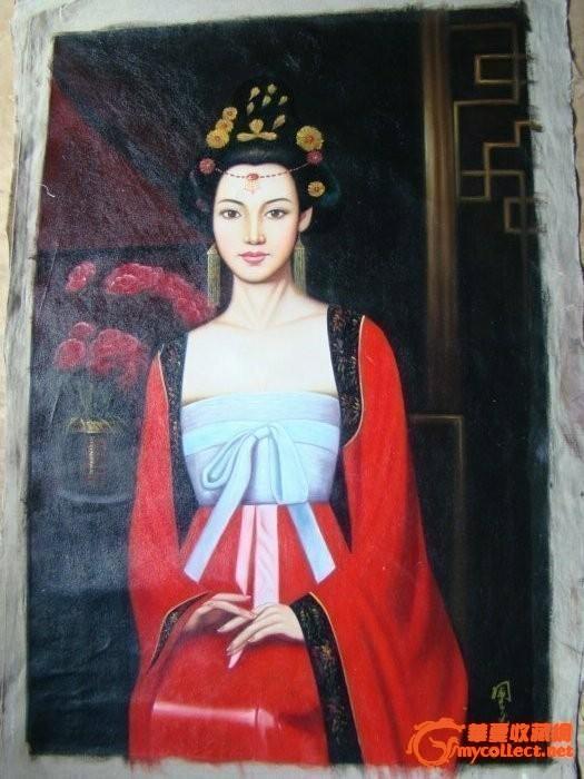 古典美女油画 古典美女油画价格