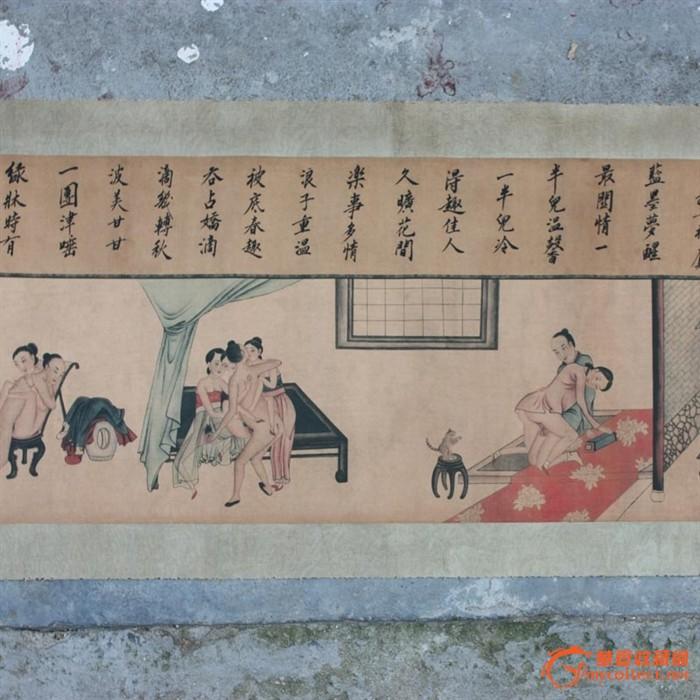 中国古代春宵秘戏图谱图片分享下载