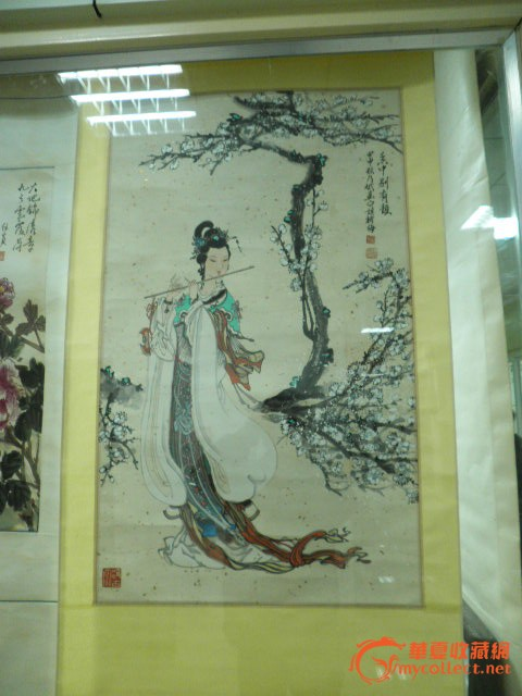 《京剧人物画》,取材于《二进宫》,《贵妃醉酒》,《白蛇传》,《霸王别
