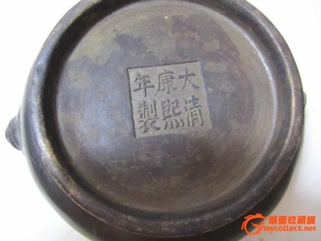 康熙御制铜香炉价格一般在多少钱