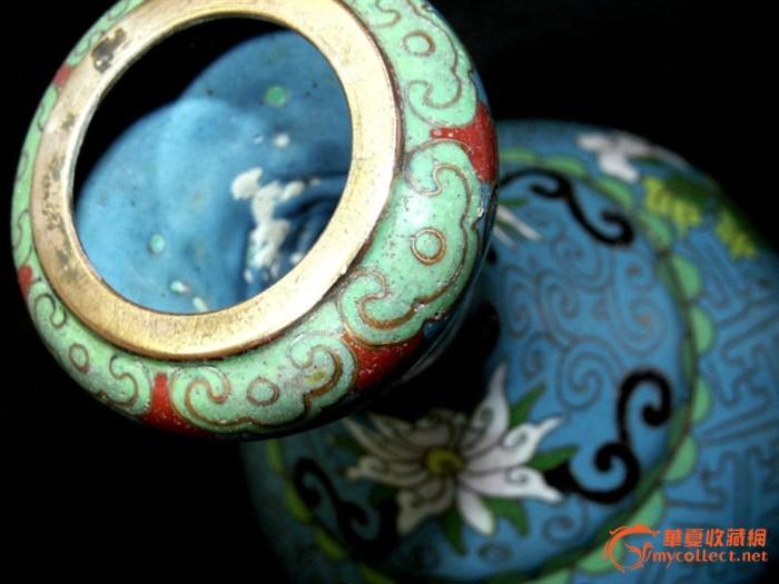 完美的民国景泰蓝花瓶