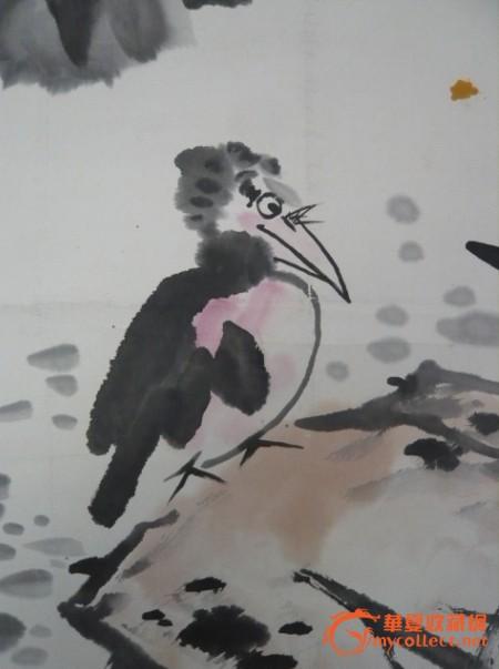 娄师白的画鸟