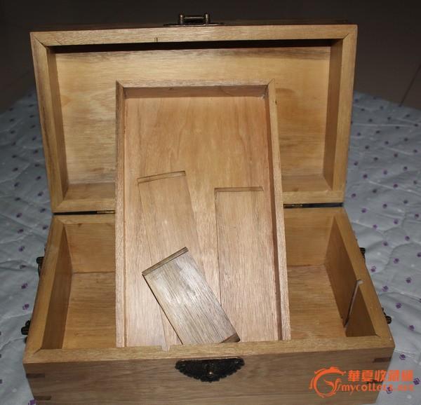 金丝楠木首饰盒=纯手工制作