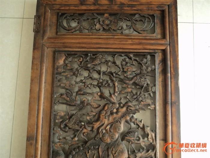 王爷家才敢用的东西 包到乾隆,麒麟雕花大板一对高清图片
