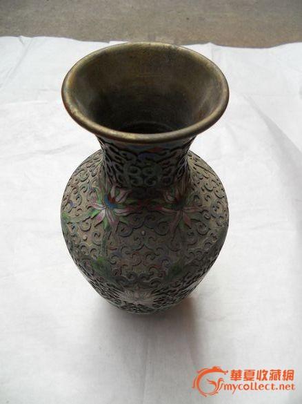 民国景泰蓝花瓶