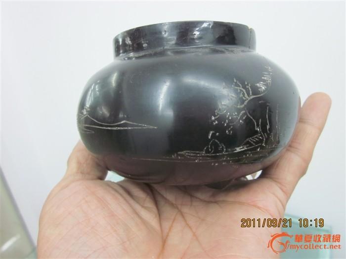 民国脱胎漆器茶叶罐图片