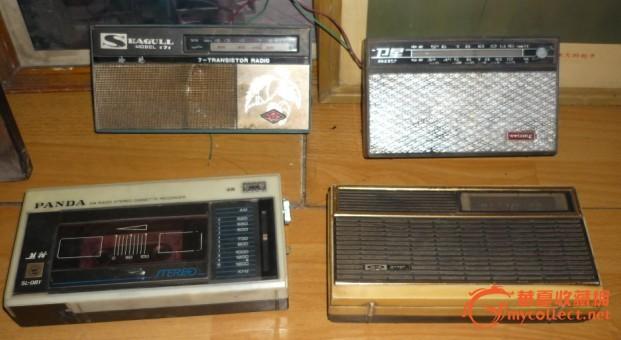 精美的各种晶体管收音机