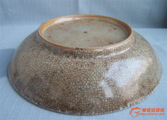 清仿哥窑盘 清仿哥窑盘价格 清仿哥窑盘图片 来自藏友wang4088 cang.