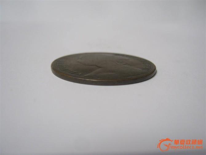 英国汉诺威王朝--1879维多利亚女王铜币_英国
