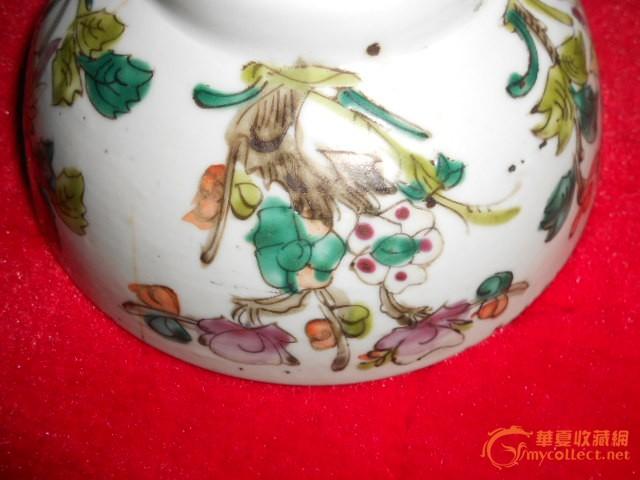 民国手绘大瓷碗