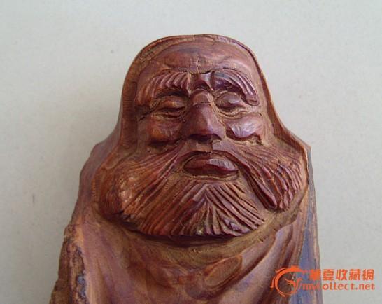 达摩木雕_达摩木雕价格_达摩木雕图片_来自藏友倒霉熊