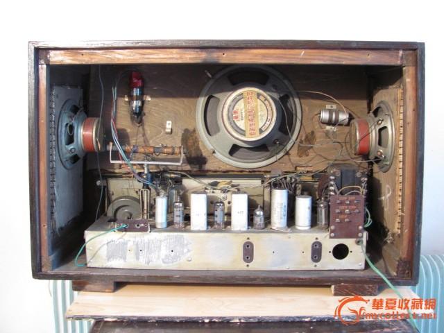 飞乐271大电子管收音机