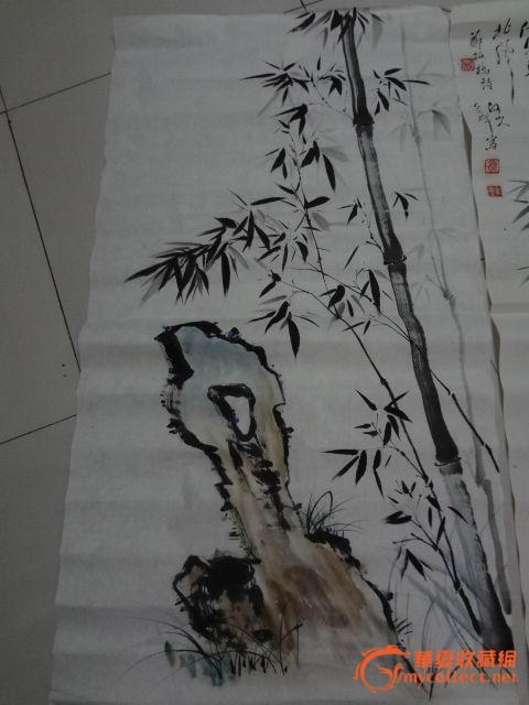 熊会群 竹子画
