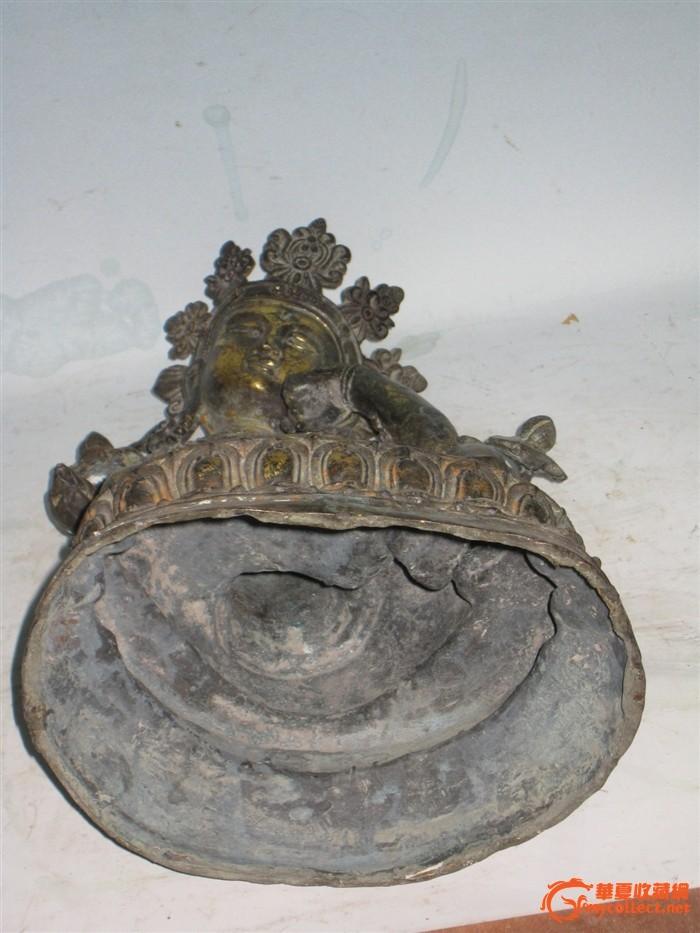明代永乐铜流金佛像
