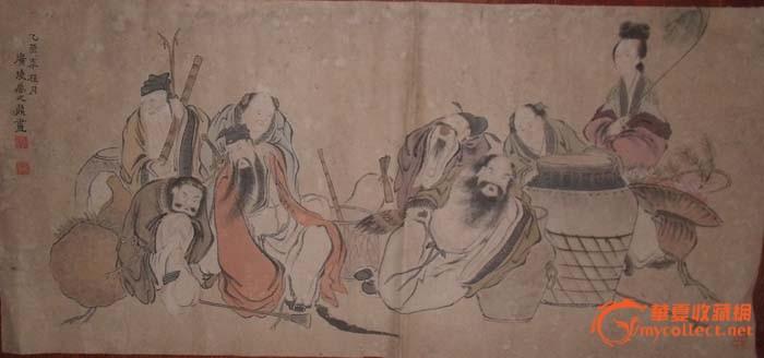 八仙过海_八仙过海价格_八仙过海图片_来自藏友字画