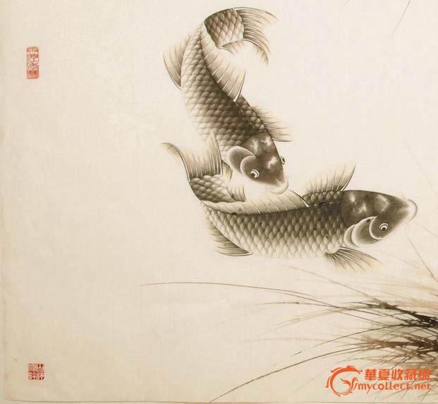 工笔荷花鱼技法_工笔鲤鱼的画法步骤图 _排行榜大全