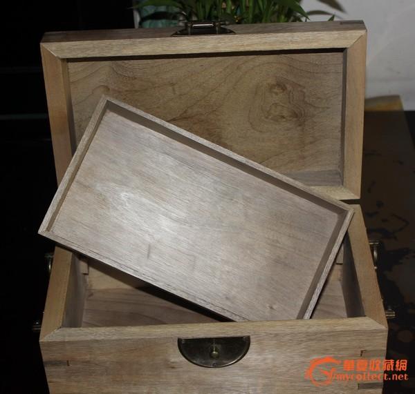 金丝楠木漂亮纹理首饰盒=纯手工制作