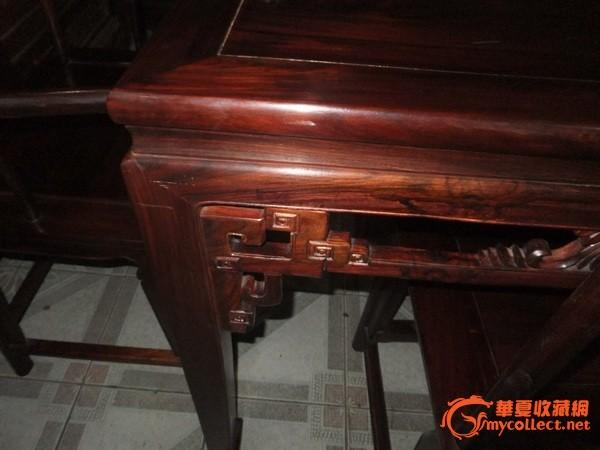 老红木 餐桌一套