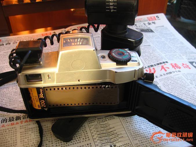 老式高档照相机