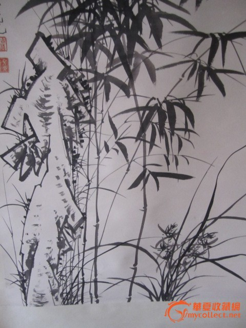如何画国画竹子简笔画步骤