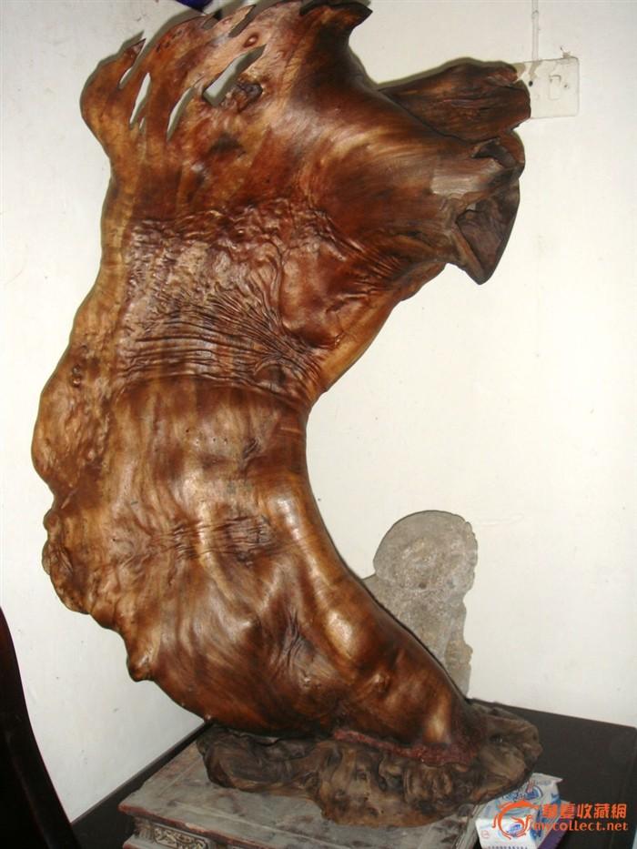 金丝楠木;自然形根雕