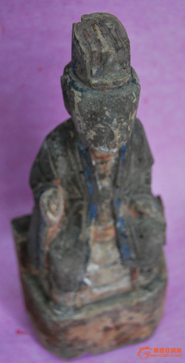 道教木雕像-图4