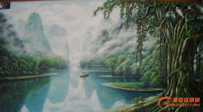 热带雨林油画_热带雨林油画价格