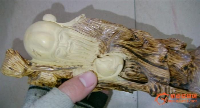 和田玉和田青玉【瑞鹰系蝉】 老黄杨木雕刻【睡佛释迦摩尼】 原矿紫砂
