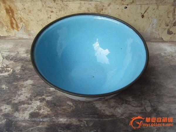 清代铜胎珐琅彩八仙过海碗
