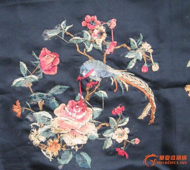 宫廷绣凤凰戏牡丹
