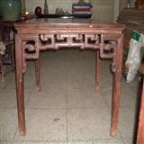 苏工柞榛木八仙桌